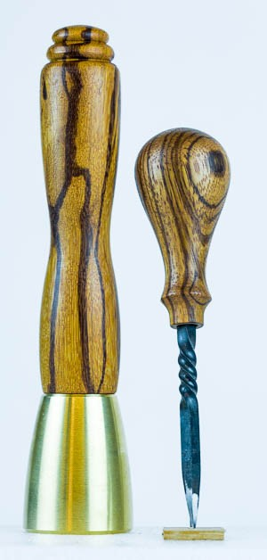 Marblewood Brass Set