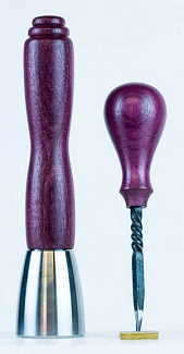 Purpleheart Steel Set